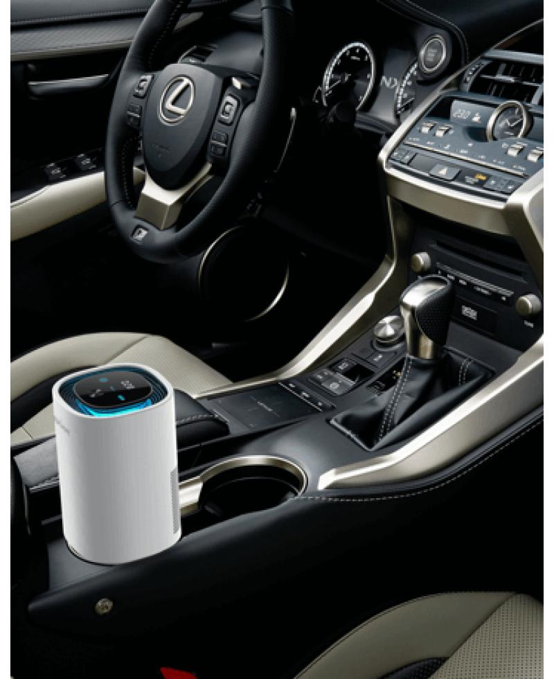 SaniHome 智能車用及座枱空氣清新機 (白色)