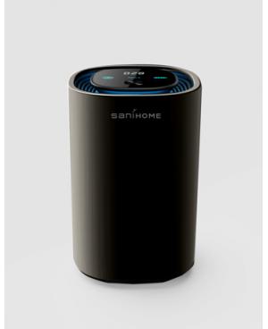 SaniHome 智能車用及座枱空氣清新機 (黑色)